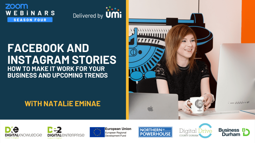 Facebook and Instagram Stories, How to Make it Work for Your Business and Upcoming Trends – Natalie Eminae