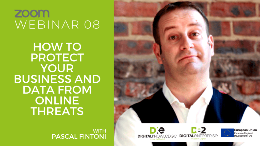 How To Protect Your Business And Data From Online Threats with Pascal Fintoni