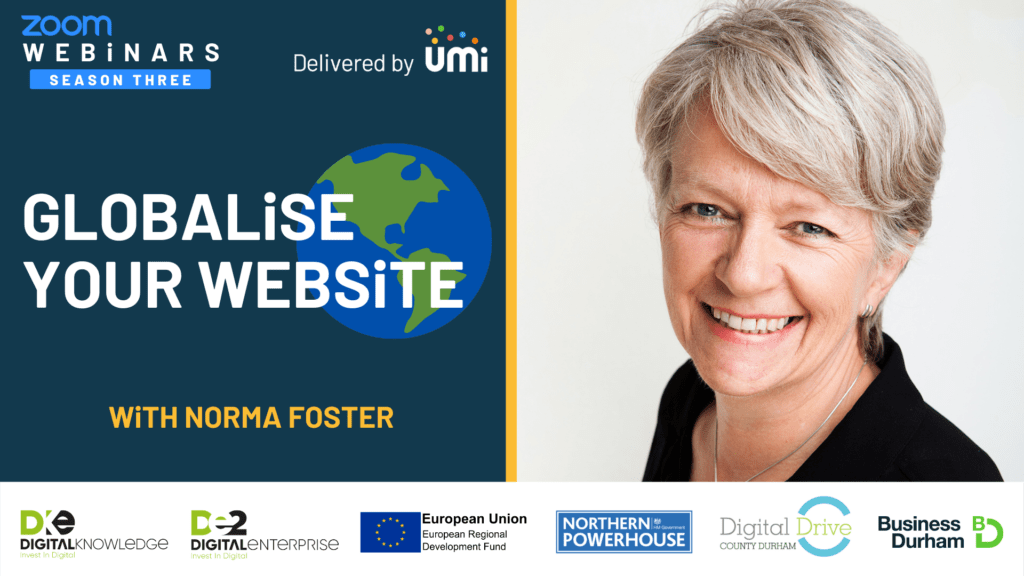 Globalise Your Website with Norma Foster