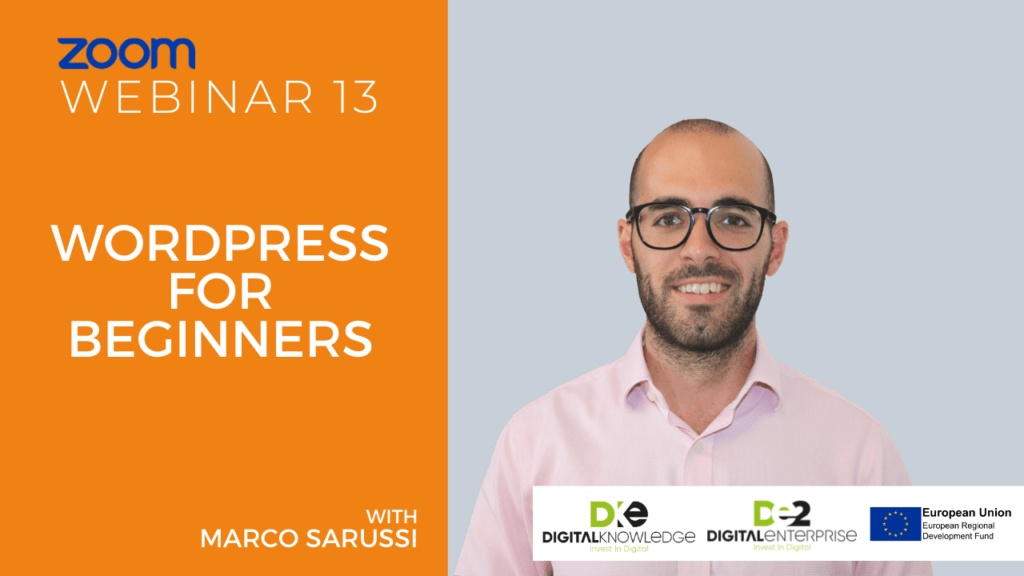 WordPress For Beginners with Marco Sarussi
