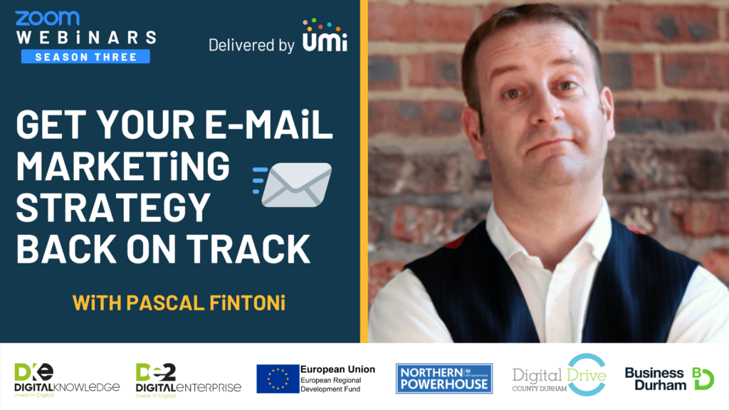 Get Your Email Marketing Strategy Back on Track with Pascal Fintoni
