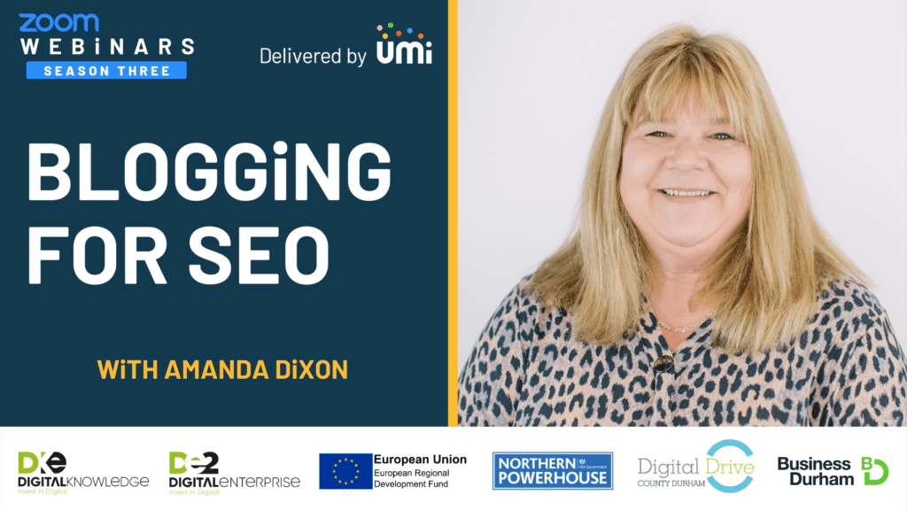 Blogging for SEO with Amanda Dixon