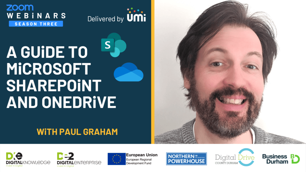 A Guide to Microsoft Sharepoint and OneDrive with Paul Graham
