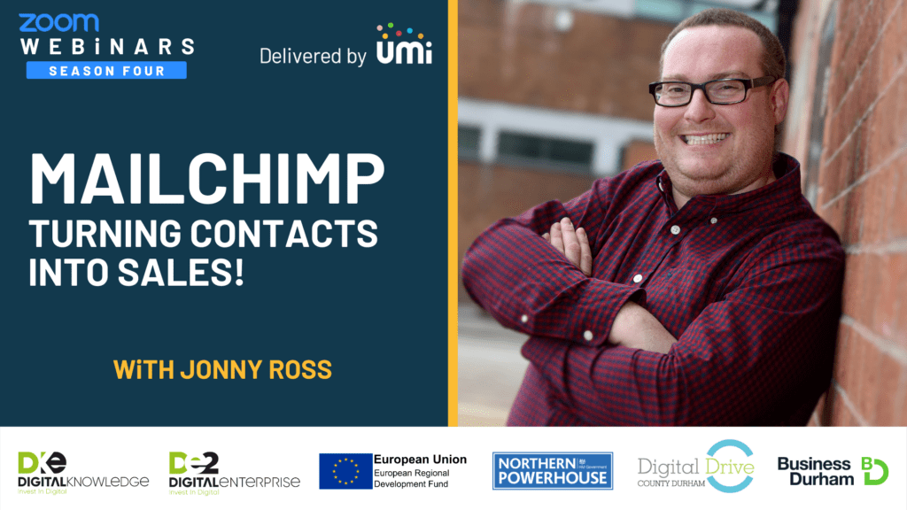 Mailchimp – Turning Contacts Into Sales with Jonny Ross