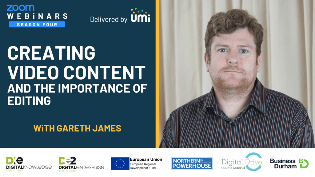 Creating Video Content and the Importance of Editing with Gareth James