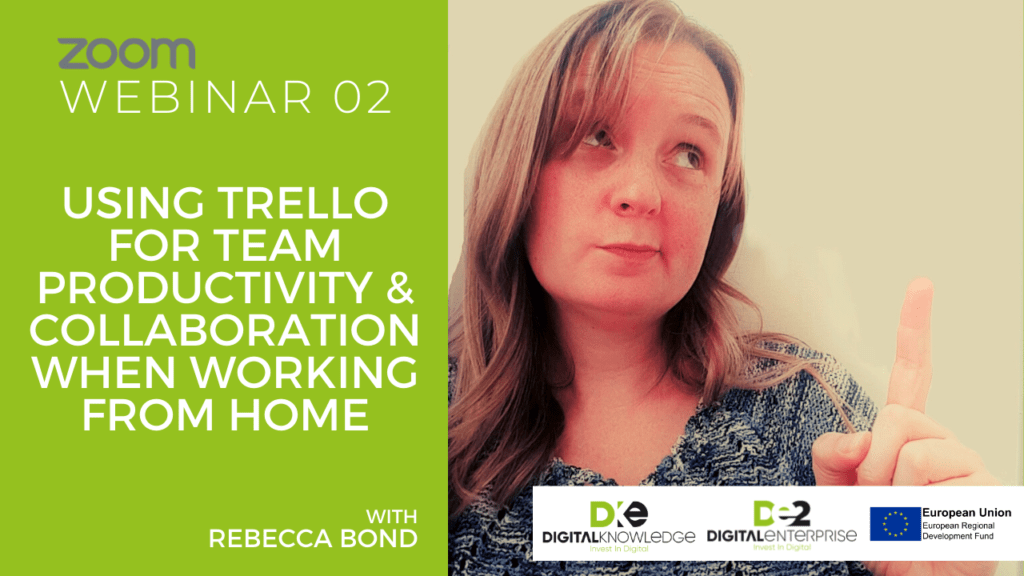 Using Trello For Team Productivity and Collaboration When Working From Home with Rebecca Bond