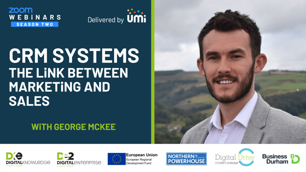 CRM Systems – The Link Between Marketing and Sales with George McKee and Jonathan Scott