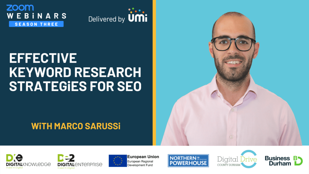 Effective Keyword Research Strategies For SEO with Marco Sarussi
