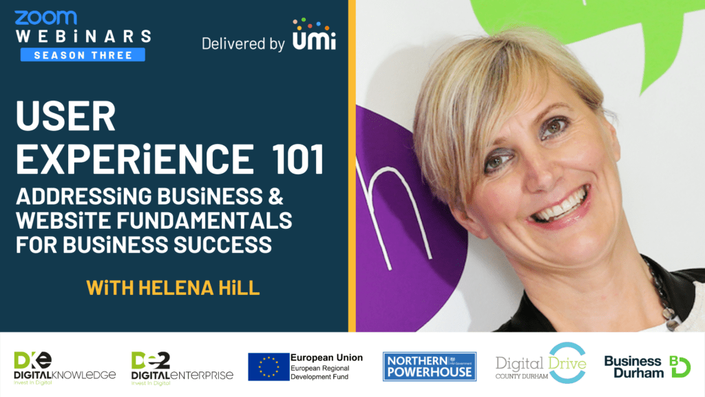 User experience 101 – Addressing Business – Website Fundamentals for Business Success with Helena Hill