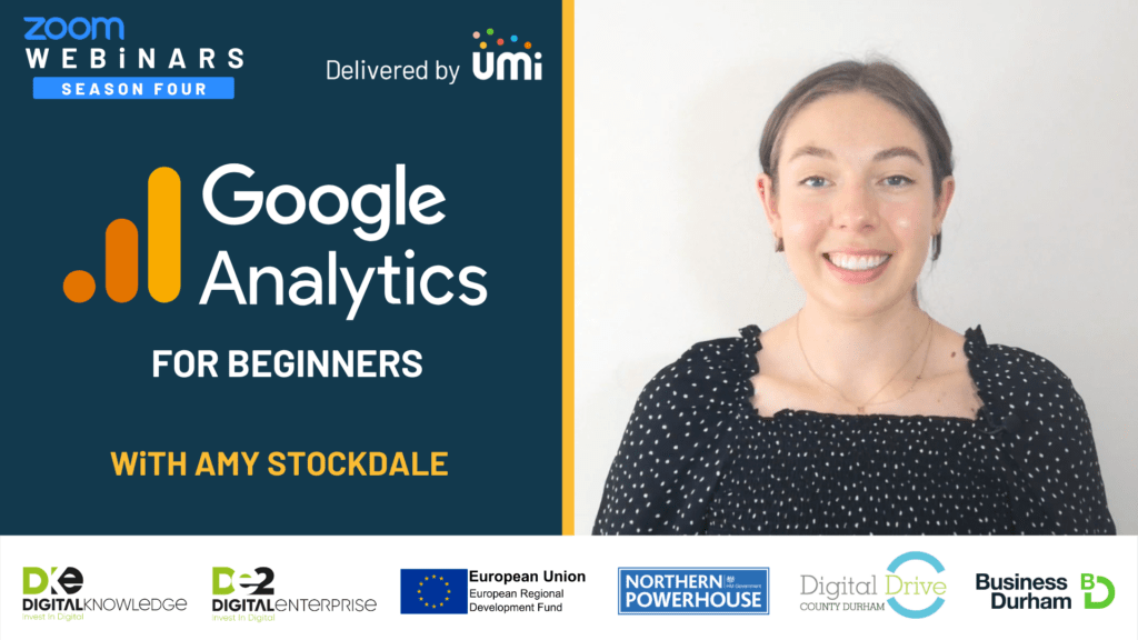 Google Analytics for Beginners with Amy Stockdale