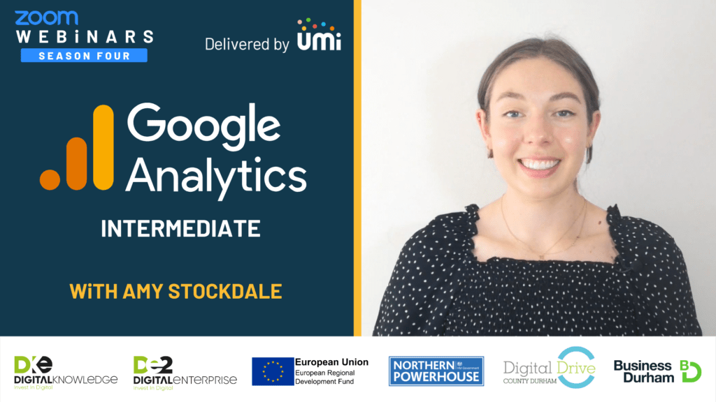 Google Analytics – Intermediate with Amy Stockdale