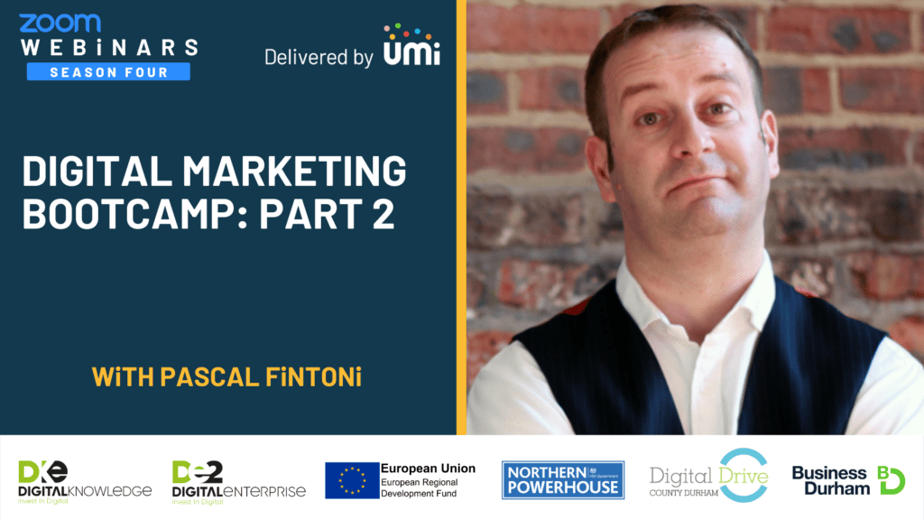 Digital Marketing Bootcamp Part 2: Creating Better Online Content Faster In 2021 with Pascal Fintoni