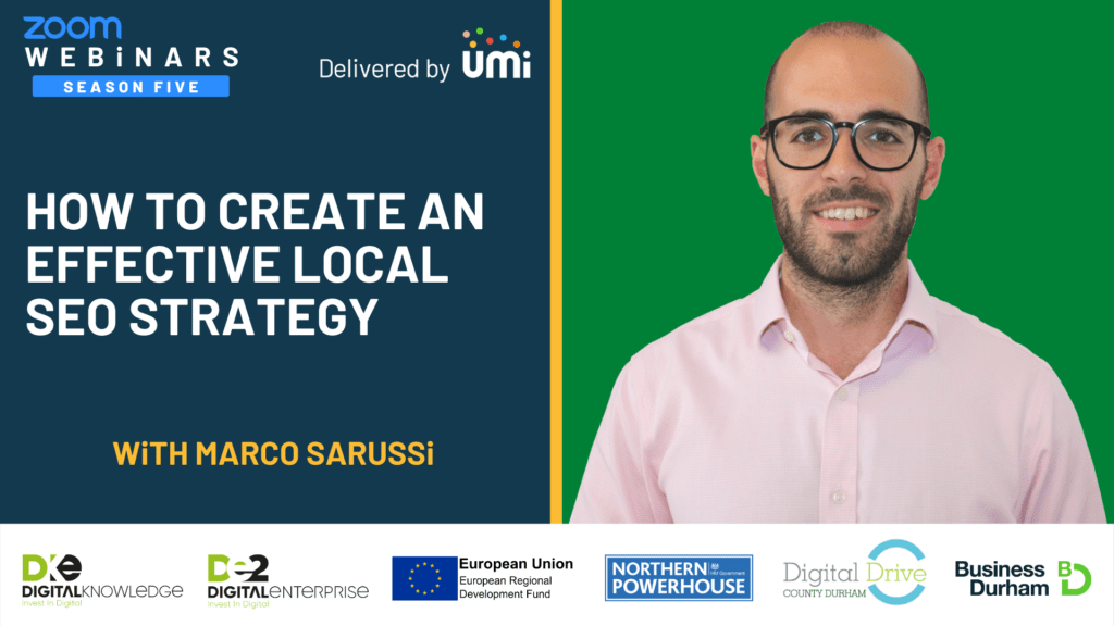 How To Create An Effective Local SEO Strategy with Marco Sarussi