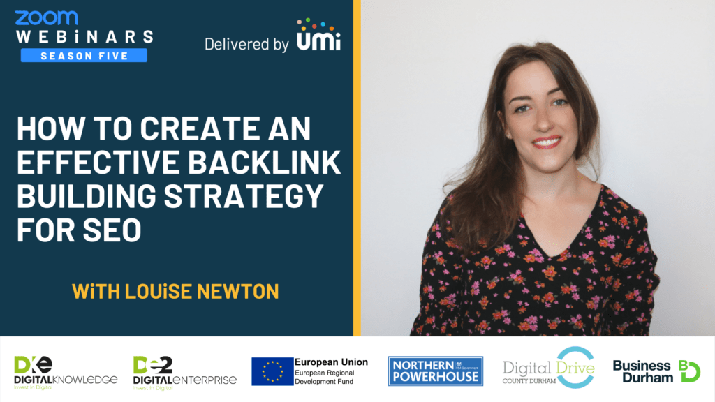 How To Create An Effective Backlink Building Strategy with Louise Newton