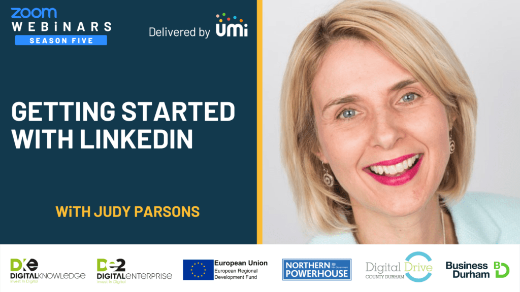 Getting Started with LinkedIn with Judy Parsons