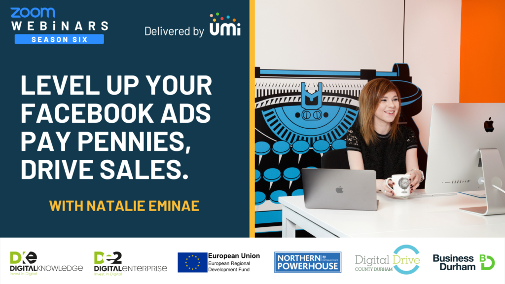 Level Up Your Facebook Ads – Pay Pennies & Drive Sales with Natalie Eminae