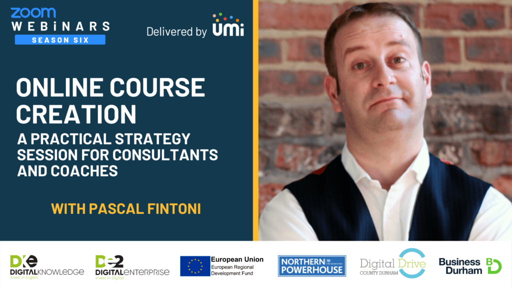 Online Course Creation with Pascal Fintoni