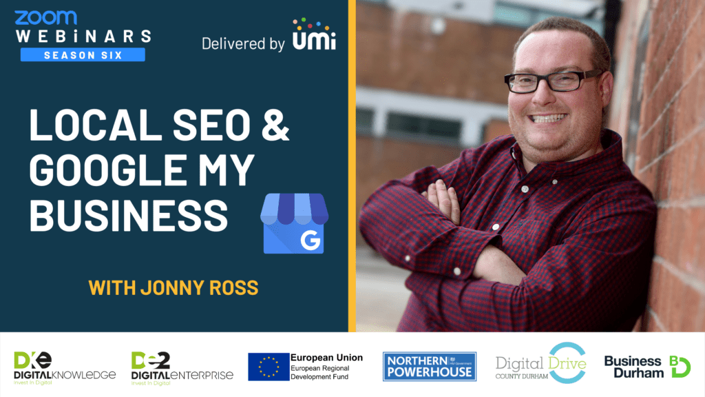 Local SEO and Google My Business with Jonny Ross
