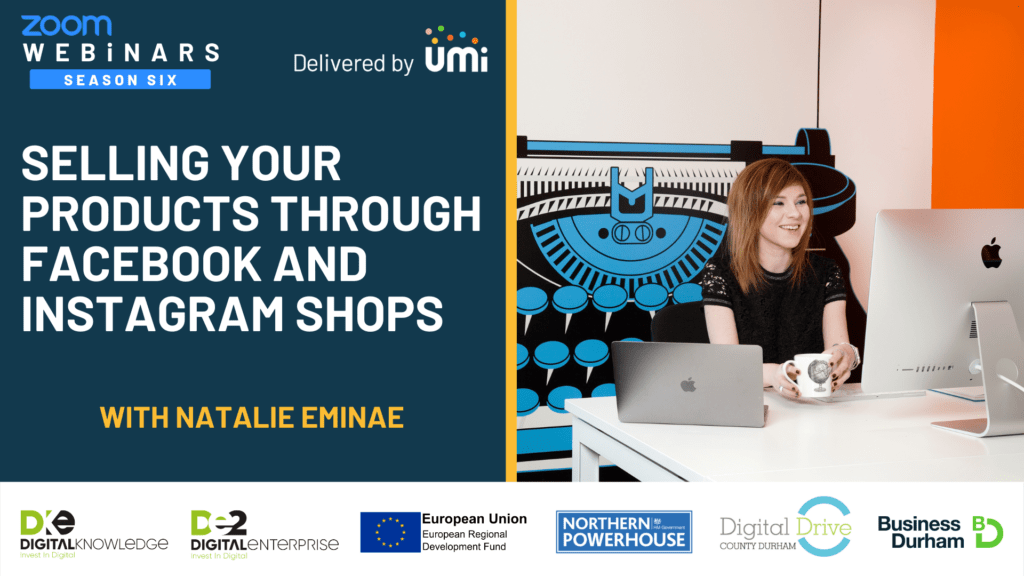 Selling Your Products Through Facebook And Instragram Shops with Natalie Eminae