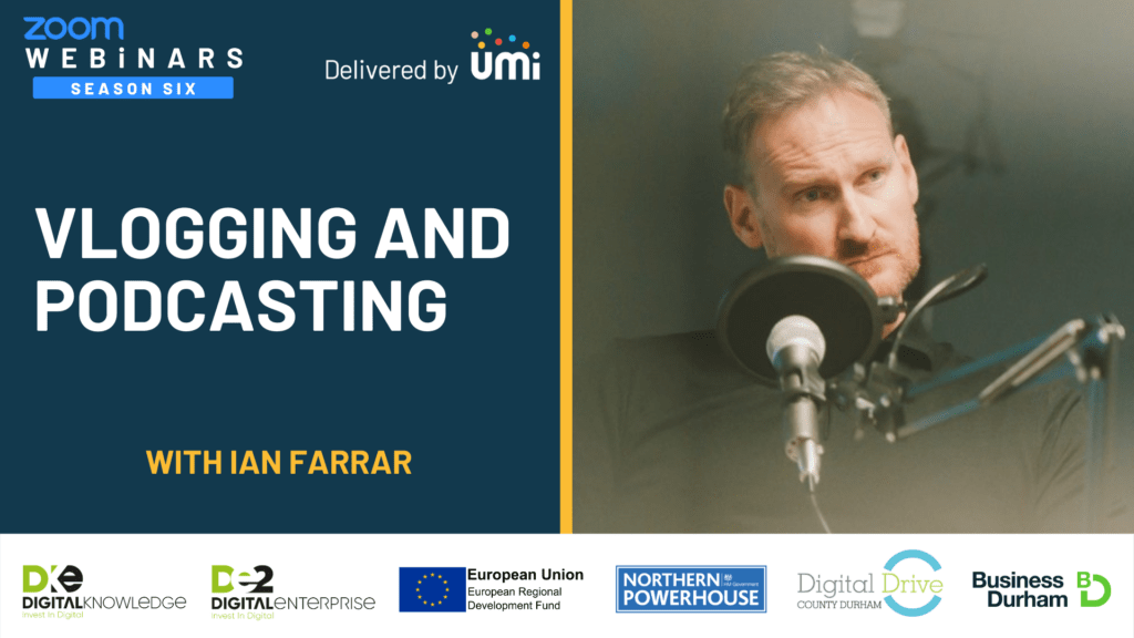 Vlogging and Podcasting with Ian Farrar