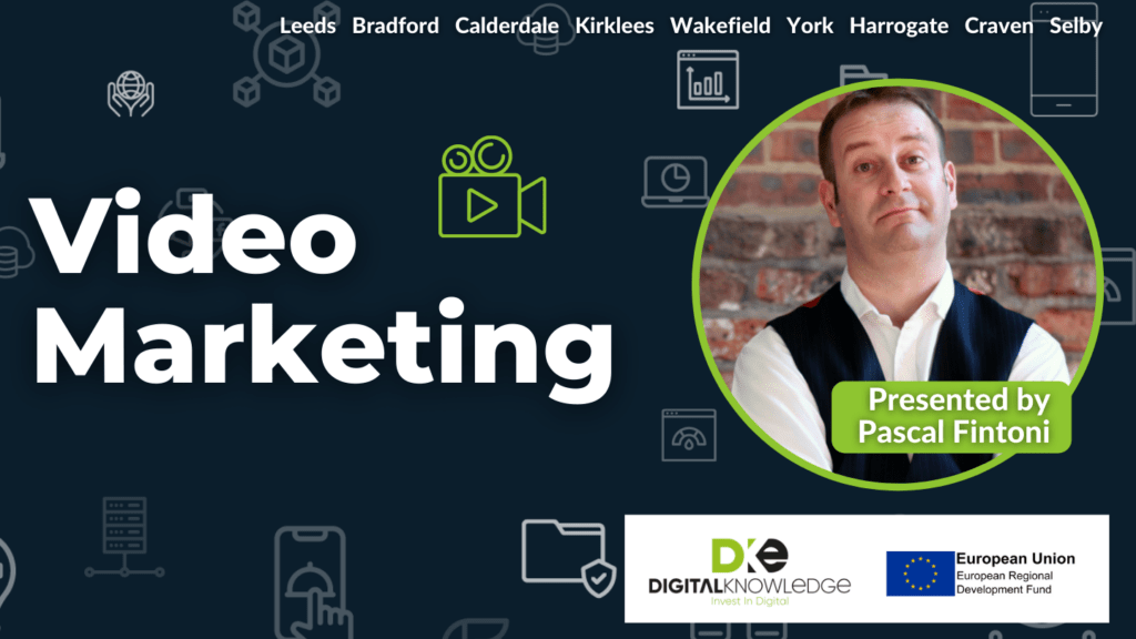 Video Marketing with Pascal Fintoni.