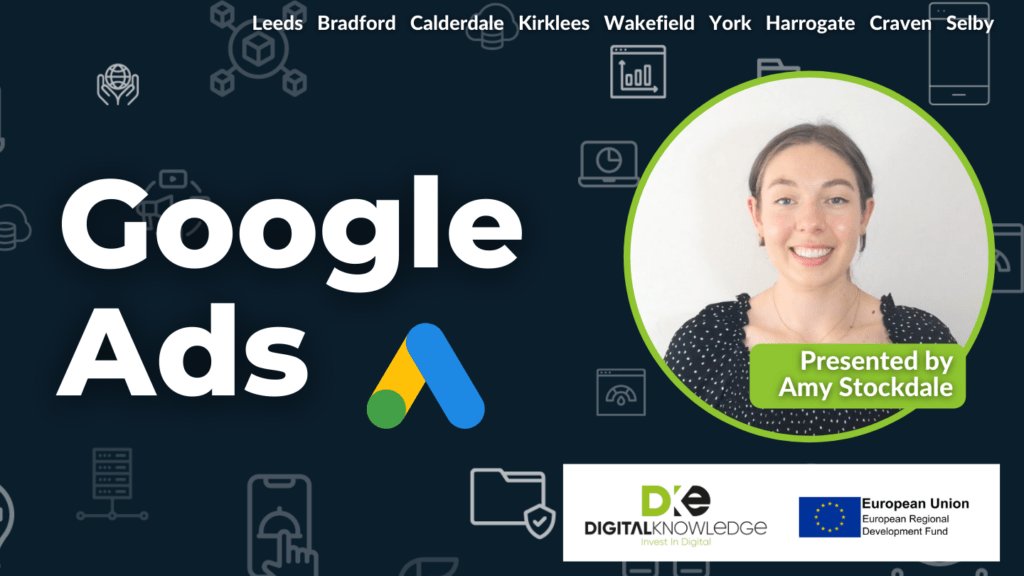 Google Ads with Amy Stockdale.