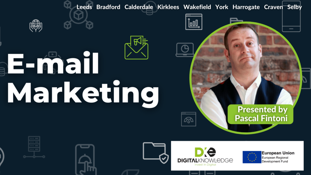 Email Marketing with Pascal Fintoni.