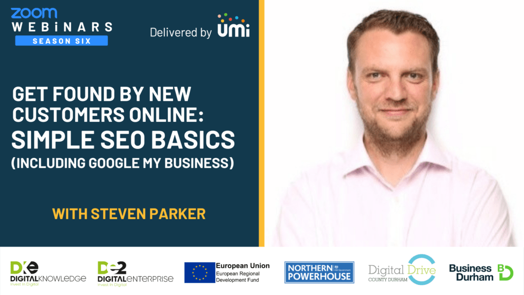 Simple SEO Basics – Get Found By More Customers Online with Steven Parker