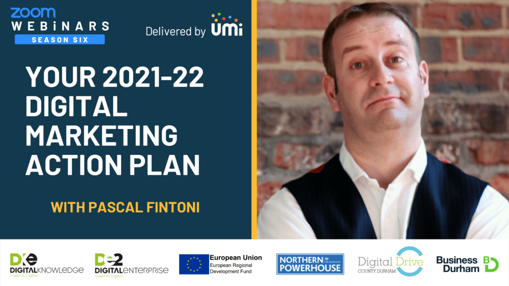 Your 2021-22 Digital Marketing Action Plan with Pascal Fintoni